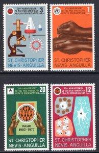 St Kitts Nevis 342-345 MNH VF