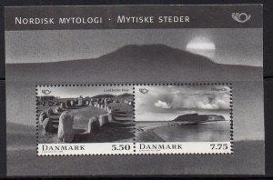 Denmark MNH S/S 1403a Mythology 2008 SCV 6.00