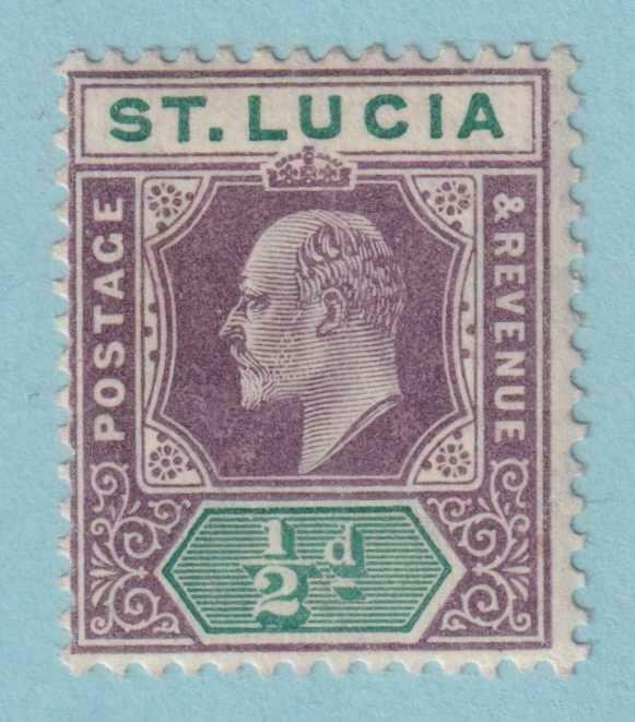 ST LUCIA 50  MINT HINGED OG * NO FAULTS VERY FINE!