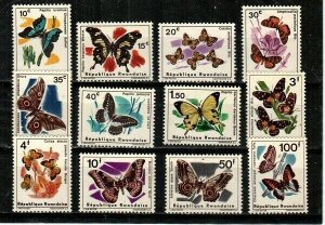 Rwanda Scott 114-25 Mint NH [TC130]