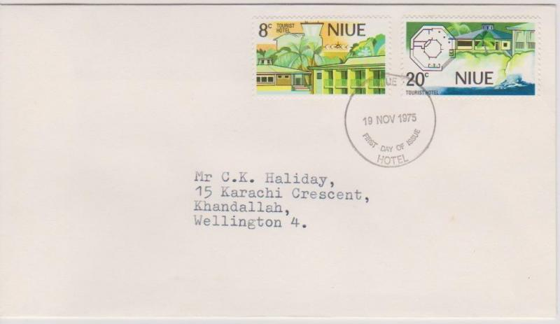 Niue - 1975 Hotel Issue First Day Cover