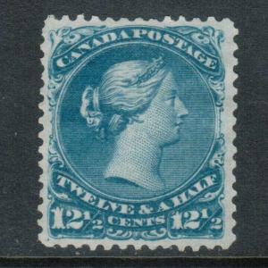 Canada #28 Very Fine Mint Full Original Gum Hinged *With Certificate*