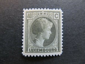 A4P26F66 Letzebuerg Luxembourg 1926-35 40c mh*