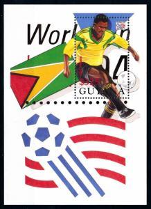 [90905] Guyana 1994 World Cup Football Soccer USA Souvenir Sheet MNH