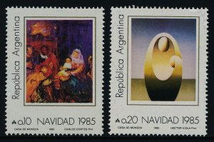 Argentina 1549-50 MNH Christmas, Birth of our Lord