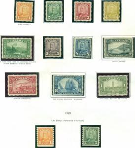 CANADA & PROVINCES COLLECTION 1860-1994 Harris 3 vols, Mint, Scott $18,943.00