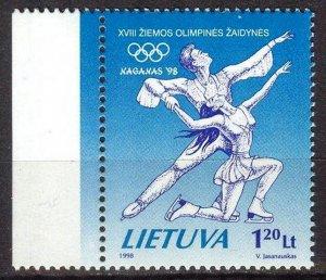 Lithuania 1998 Winter Olympics Games Nagano MNH