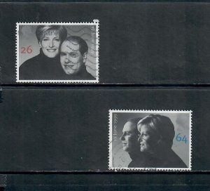 G.B 1999 COMMEMORATIVES  SET LAND SPEED ISSUE USED h 011220