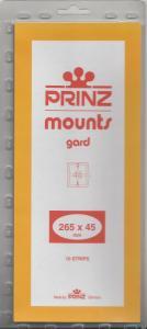 PRINZ BLACK MOUNTS 265X45 (10) RETAIL PRICE $9.50