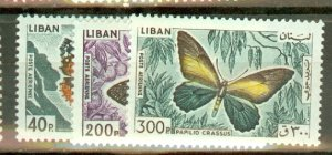 P: Lebanon C427-35 mint CV $85; scan shows only a few