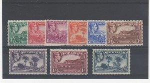 Montserrat 1938-48 vals to 2s 6d MLH