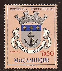 Mozambique  #  420  Mint  N H