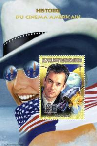 Malagasy 1999 Tom HANKS American Cinema s/s Perforated Mint (NH)