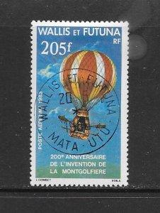 WALLIS & FUTUNA #C121  MANNED FLIGHT  CANCELLED