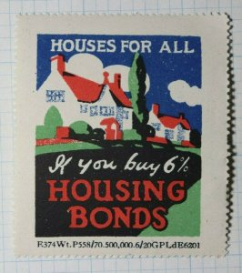 Housing Bonds Houses For All Company Brand Poster Stamp Ad