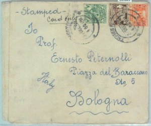 86189 - BURMA - Postal History - Printed Matter  COVER to ITALY -   1953