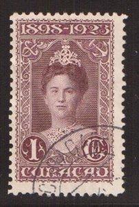 Netherlands Antilles  Curacao  #79   used  1923  Wilhelmina 1g