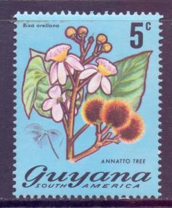 Guyana Scott 136, 1971 Flowers 5c MH*