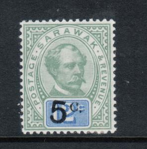 Sarawak #24 Extra Fine Mint Very Lightly Hinged