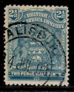 RHODESIA QV SG80b, 2½d grey-blue, FINE USED.