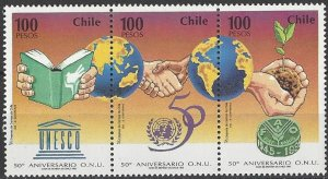 Chile 1144  MNH  United Nations 50th Anniversary