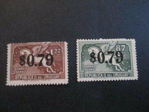 Uruguay #C109-10 Mint Hinged WDWPhilatelic (H5K7)
