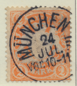 Bavaria (German State) Stamp Scott #74, Used - Free U.S. Shipping, Free World...