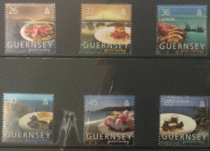 GUERNSEY 2005  EUROPA FOOD..SG1072-1077 UNMOUNTED MINT