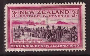 New Zealand Scott 234 Used