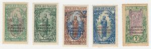 Middle Congo - 1924-27 - SC 33,36-37,40,45 - H