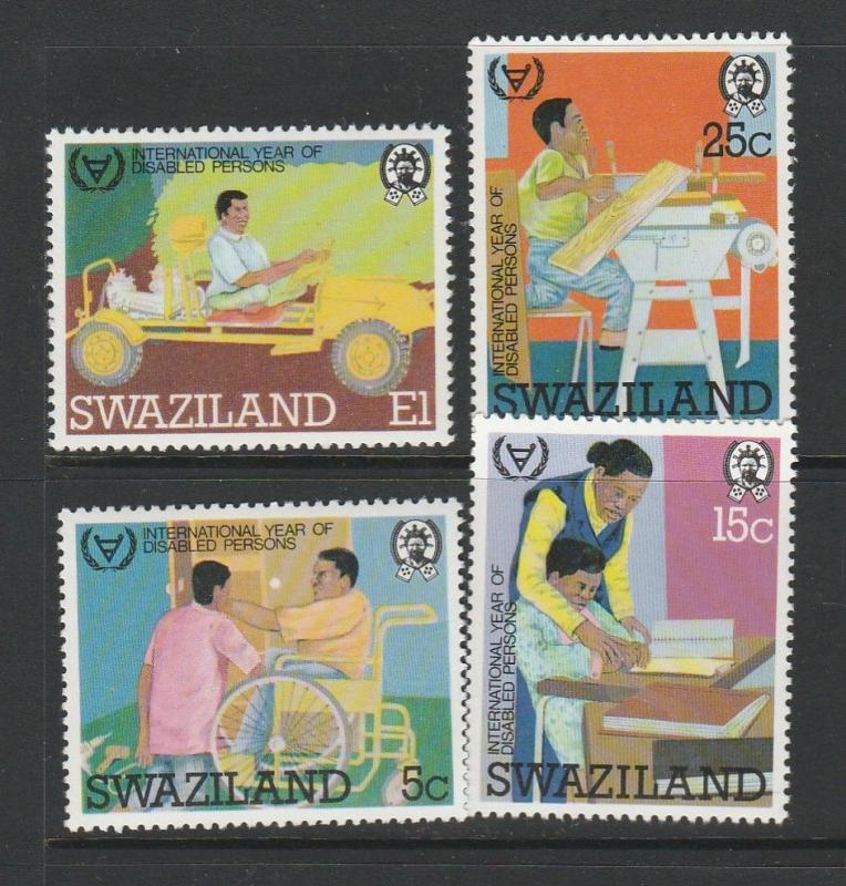 Clearance Swaziland 1981 Year of the Disabled 14 sets UM/MNH SG 389/92 Cat £49