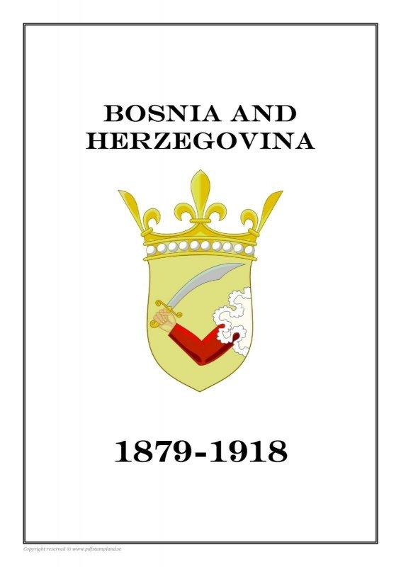 Bosnia and Herzegovina 1879-1918 PDF(DIGITAL) STAMP ALBUM PAGES