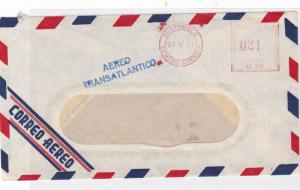 guatemala 1963 airmail stamp cover  ref 10091