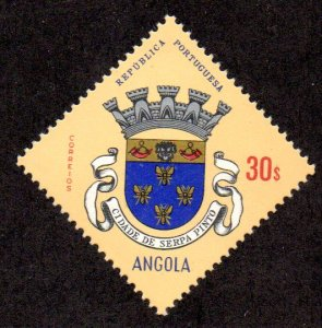 ANGOLA 486 MNH SCV $3.00 BIN $1.80 COAT OF ARMS