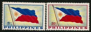 Philippines #650-651   MNH