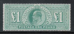 Great Britain #142 (SG #266) Extra Fine Mint Gem Full Original Gum Lightly Hinge