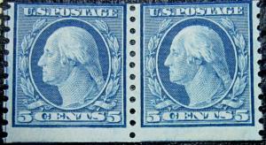 U. S. 496 AVF MNH PAIR SCV$17.50