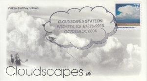 2004 Cumulonimbus incus Cloudscapes  (Scott 3878e) Artcraft Clouds Pictorial