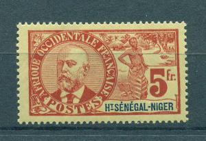 Upper Senegal & Niger sc# 17 mh cat value $110.00