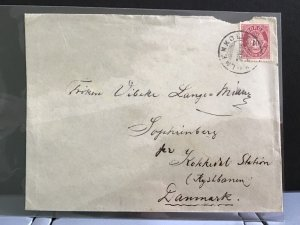 Norway to  Denmark stamps cover R31695
