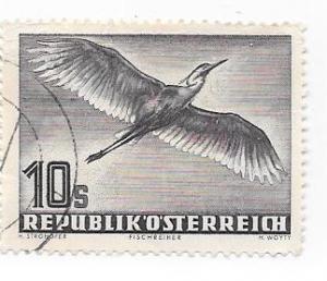 Austria #C59   10s Birds (U) CV $47.50