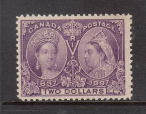 Canada #62 Mint **With Certificate**