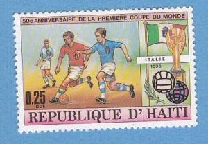Haiti 733 MNH - World Cup Soccer Championship, 50th Anniv
