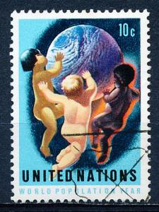 United Nations - New York #252 Single Used