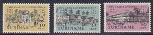 Surinam # 356-358, C. Kersten & Co. Anniv. NH, Half Cat.