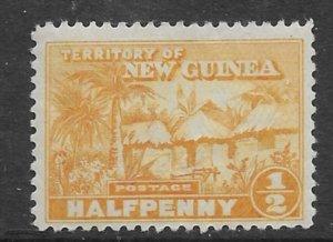 New Guinea #1 1925   half penny   unused