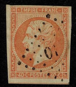 France #18 Used 25% of SCV $10 **FREE SHIPPING**