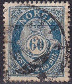 Norway #95  F-VF Used  (K2843)
