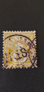 Switzerland #75 Used