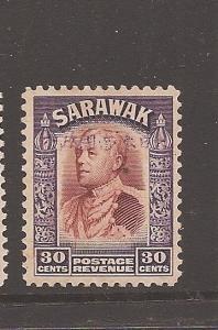 Sarawak Jap Oc 30c SG J19 MNH slight tone(9aus)